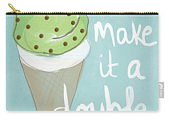 Mint Chip Carry-all Pouch