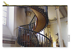 Carry-all Pouch featuring the photograph Miraculous Stairs by Kurt Van Wagner