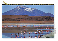 Carry-all Pouch featuring the photograph Mirage by Skip Hunt