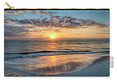 Carry-all Pouch featuring the photograph Mirror At Sunrise by Debra and Dave Vanderlaan