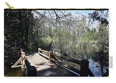 Mirror Lake At Yosemite National Park Carry-all Pouch