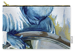 Carry-all Pouch featuring the painting Mirror Mirror by Rene Capone