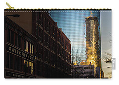 Mirror Reflection Of Peachtree Plaza Carry-all Pouch