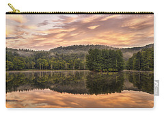 Bass Lake Sunrise - Moses Cone Blue Ridge Parkway Carry-all Pouch