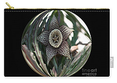 Captured Five-point Star Succulent Carry-all Pouch