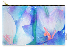 Carry-all Pouch featuring the digital art Mirthfulness by Klara Acel