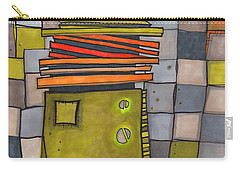 Misconstrued Housing Carry-all Pouch by Sandra Church