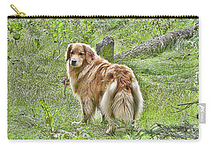 Carry-all Pouch featuring the photograph Miss B by Rhonda McDougall