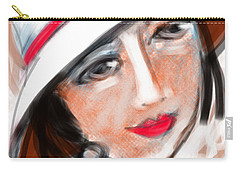 Miss Mary Carry-all Pouch by Elaine Lanoue