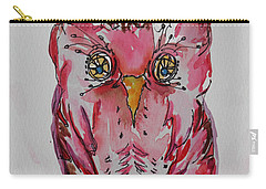 Miss. Pink Owl Carry-all Pouch