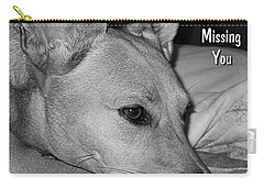 Missing You Carry-all Pouch