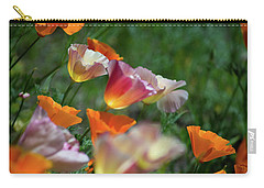 Mission Bell Poppies Carry-all Pouch