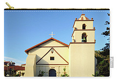 Mission San Buenaventura, Ventura, California Carry-all Pouch