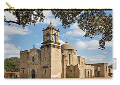 Carry-all Pouch featuring the photograph Mission San Jose by Mary Jo Allen