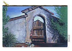 Rustic Charm Carry-all Pouch by Mary Ellen Frazee