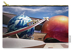 Carry-all Pouch featuring the photograph Mission Space by Eduard Moldoveanu