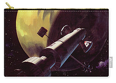 Mission To Mars Carry-all Pouch by Wilf Hardy