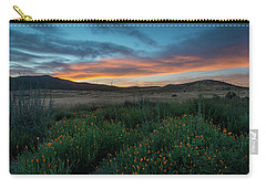 Mission Trails Poppy Sunset Carry-all Pouch