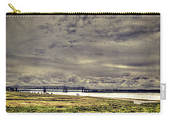 Carry-all Pouch featuring the photograph Mississipi River by Christopher Meade