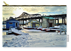 Mississippi River Boathouses Carry-all Pouch