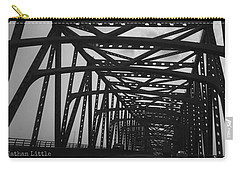 Mississippi River Bridge Carry-all Pouch