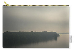 Mississippi River Morning Carry-all Pouch by Aliceann Carlton