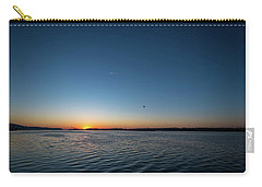 Mississippi River Sunrise Carry-all Pouch