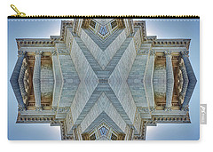 Carry-all Pouch featuring the photograph Missouri Capitol - Abstract by Nikolyn McDonald