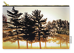 Missouri Tree Line Carry-all Pouch by Christopher McKenzie