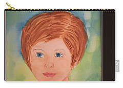 Carry-all Pouch featuring the painting Missy by Donald Paczynski