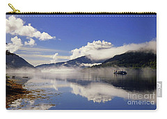 Mist On The Loch Carry-all Pouch by Lynn Bolt