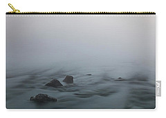 Carry-all Pouch featuring the photograph Mist Over The Third Stone From The Sun by Davor Zerjav