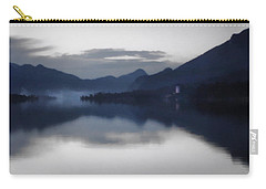 Mist Rising On The Wolfgangsee At Dusk Carry-all Pouch