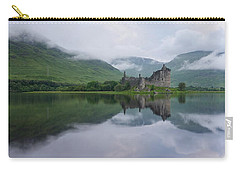 Mist Swarms Around Kilchurn Castle Carry-all Pouch