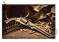 Mister Durant's Revolver Carry-all Pouch by American West Legend By Olivier Le Queinec