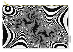 Carry-all Pouch featuring the digital art Mistreaded by Andrew Kotlinski