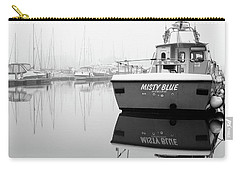 Carry-all Pouch featuring the photograph Misty Blue Eastbourne by Will Gudgeon
