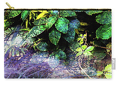 Misty Branches Carry-all Pouch by Deborah Nakano