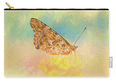 Misty Butterfly Carry-all Pouch