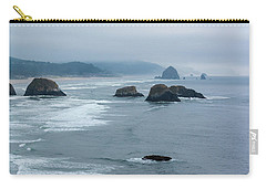 Misty Coastline Carry-all Pouch