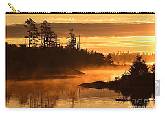 Misty Dawn At Gabbro Lake Carry-all Pouch