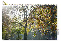 Misty Fall Day At Hyde Park Carry-all Pouch