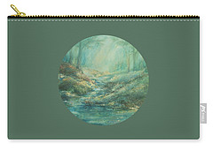 The Misty Forest Stream Carry-all Pouch