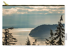 Misty Island Carry-all Pouch by Ed Clark