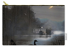 Carry-all Pouch featuring the photograph Misty Moonlight by LemonArt Photography