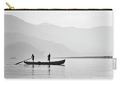 Misty Morning 3 Carry-all Pouch by Kiran Joshi