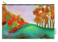 Misty Morning Carry-all Pouch by Elizabeth Fontaine-Barr