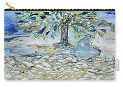 Misty Morning Carry-all Pouch by Evelina Popilian