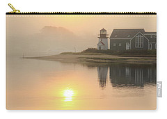 Misty Morning Hyannis Harbor Lighthouse Carry-all Pouch