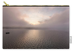 Carry-all Pouch featuring the photograph Misty Morning II by Tom Singleton